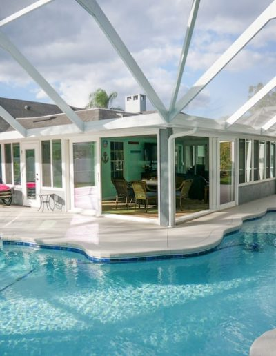 Polk County Screen Room converted to Florida Room