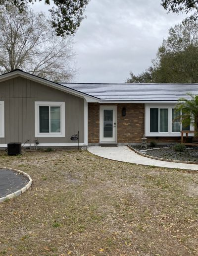 Replaced windows with ultra efficient windows on this Polk County Home